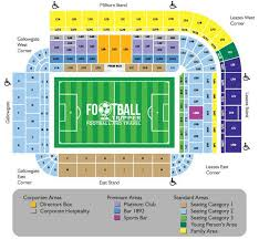 Spark Arena Seating Chart St James Park Guide Newcastle United Fc Football Tripper