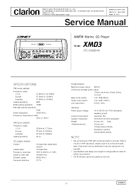 clarion xmd3 wiring diagram clarion xmd3 installation manual at Clarion Xmd1 Wiring Diagram