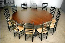 rustic round dining room table custom wood tables handcrafted farmhouse dining large round throughout room table