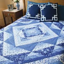 King Size Quilt Patterns Fascinating PAINTED PORCELAIN Easy King Size Quilt Pattern Designed And Machine
