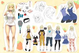 anime character design sheet. Wonderful Anime Commission Character Sheet By Kotorikurama  And Anime Character Design Sheet C