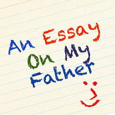 essay for father