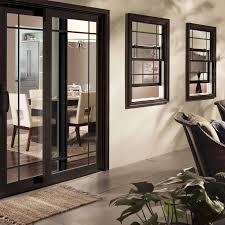 black patio door modern other by