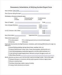 Free 40 Sample Incident Report Forms In Pdf Pages