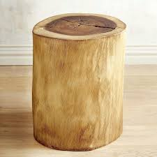wood stump furniture. Wood Stump Stool Natural Tree Accent Table Pier 1 Imports Loading Furniture Y