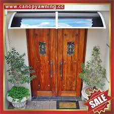 door window diy pc polycarbonate awning canopy canopies for