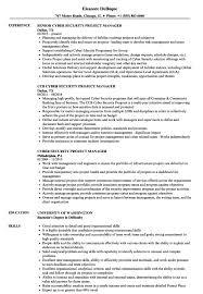 Resume Templates Ict Manager Sample Example Cv Samples Velvet