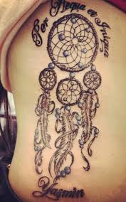 Dream Catcher Tattoo With Quote Meaning and History of Dreamcatcher Tattoos InkDoneRight 12