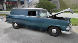 Rare Ride: 1955 Ford Courier Sedan Delivery