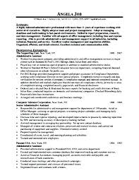 Administrative Assistant Resumes Amazing Executive Assistant Resume Samples Free Nanomedia Resume Example