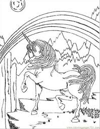 Small Picture unicorn coloring pages
