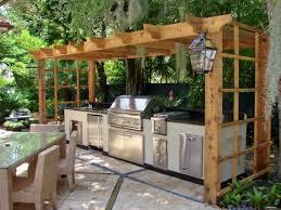 Nice Outdoor Kitchen Wood Countertops Inspiration Bistrodre