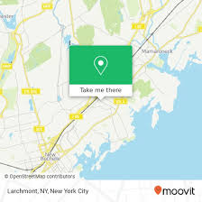 larchmont ny by bus or train