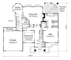 How Much Does it Cost to Build a House in FloridaHouse Plan     D  from    houseplansandmore com
