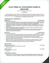 Sample Resume For Experienced Mechanical Project Engineer
