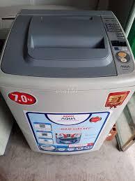 Máy giặt Aqua Twin 7kg giặt sấy êm ru - 86576439
