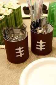 Cheap Super Bowl Decorations Cheap Super Bowl Party Ideas Super bowl party Diy decoration 19