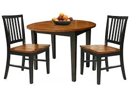 three piece dining set. 3 Piece Dining Set With Two Drop Leaves Three C