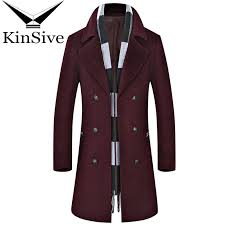 2019 winter coat men high quality formal business mens long overcoat wool blend jacket double ted man cashmere trench coat 2018 from cover3127