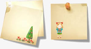 Cute Stationery Paper Postcards Cute Clipart Lovely Paper Png