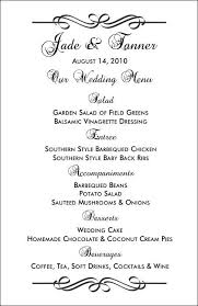 Formal Dinner Menu Template Extraordinary Free Printable Menu Templates And More I'M GETTING MARRIED