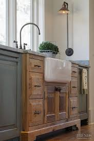cottage kitchen furniture. Kitchen Sink. The Sink Cabinet Juts Out Into Room, Like A Piece Of Cottage Furniture E