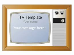 tv powerpoint templates tv powerpoint template wide screen tv frame template templates