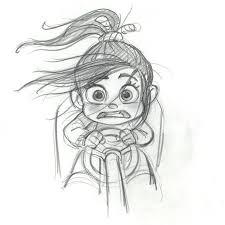Les Mondes De Ralph The Art Of Disney Drawings Disegni A