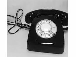 Old Telephone Design Black Color Old Design Telephone