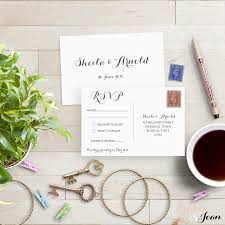 Rsvp Card Sizes Postcard Rsvp Card Wedding Rsvp Postcard 2558422 Weddbook