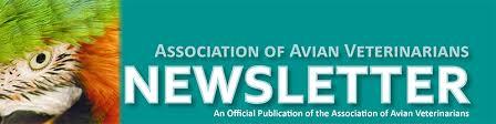 Newsletter Mastheads January 2018 Newsletter Association Of Avian Veterinarians