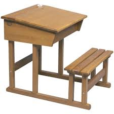 school desk. Old Fashioned- Retro School Desk - French Carousel A