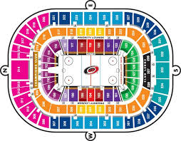 Carolina Seating Chart Full Season Tickets 2015 Ice Hockey Teams Hockey Teams