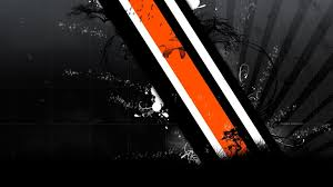 Orange, white, and black digital ...