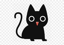 cute halloween black cat. Exellent Cat Black Cat Cartoon Cute Halloween Horror Icon  Cute Cat  Cartoon Inside Halloween H