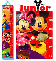 Disney Junior Height Chart Mickey Minnie Mouse Other