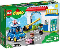 Đồ chơi LEGO Duplo 10902 - Xe Cảnh Sát của Bé (LEGO 10902 Police Station)