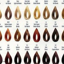 Loreal Dia Light Hair Color Chart Unbiased Loreal Diacolor Chart