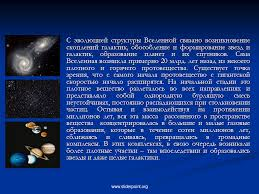 Происхождение Вселенной Презентация Астрономия sliderpoint Перейти