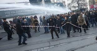 تركيا - احتجاجات أمام البرلمان بشأن تعديلات دستورية توسع سلطات إردوغان