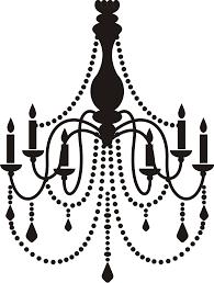 vintage chandelier clip art chandelier silhouette clip art free clip art library