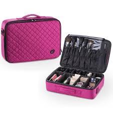 mua limited kiota makeup case cosmetic travel storage organizer bag with dividers