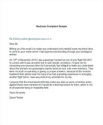 Business Complaint Letter Template Atlasapp Co