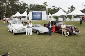 1934 cadillac victoria convertible coupe wins best of show at 2017 hilton head island motoring festival concours d elegance