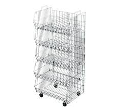 freezer storage baskets storage baskets freestanding retail shelving stacking wire baskets freezer storage baskets chest freezer