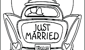 Wedding Coloring Books For Kids Free Wedding Coloring Book Kids ...