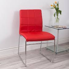 red leather chair. Brilliant Leather Bradford Vicky Armless Faux Leather Chair Red And Red K