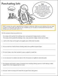 Commas Student Assessment