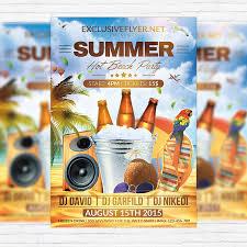 Beach Flyer Beach Party Flyer Template Free Rome Fontanacountryinn Com