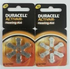 Hearing Aid Battery Sizes Chart Duracell Size 10 Battery Batteries Charge Storage Devices